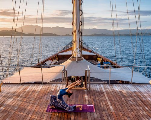 Mind, Body and Soul Yacht Charter Experiences; Practice you