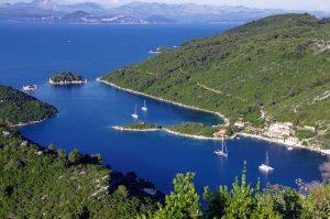 Itinerario de 7 días en barco de Split a Dubrovnik.