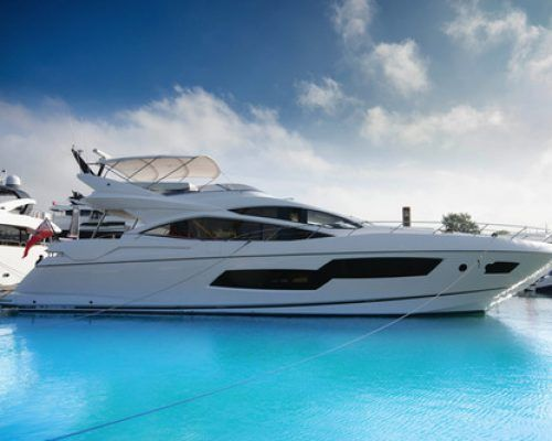 Introducing M/Y SEAWATER – a Brand New Sunseeker 80 Sport for charter in Balearics